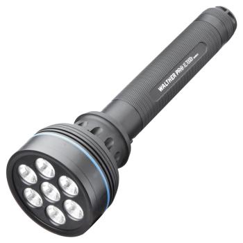 Svítilna Walther XL7000r s nabíječkou, 2200 lumenů, Tactical Strobe