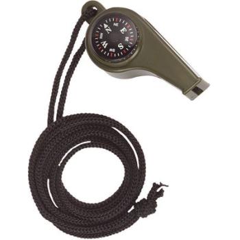Píšťalka s kompasem a teploměrem, Mil-Tec