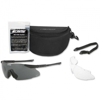 Ballistic Eyeshield ICE Black, 2 LS , ESS