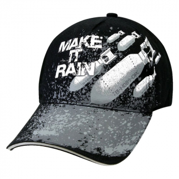 Cap Make It Rain Deluxe, black, Rothco