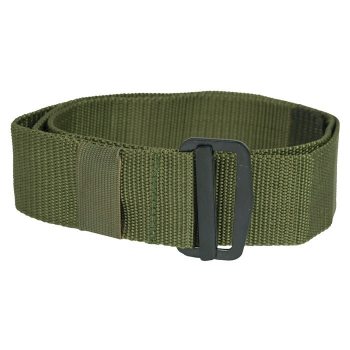 Trouser belt with thread buckle US BDU, olive, Mil-Tec