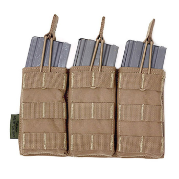 Triple MOLLE Open M4 5.56mm Pouch, Warrior