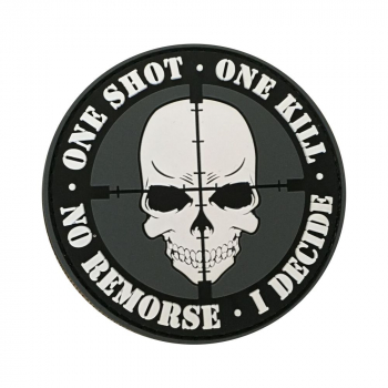 "PVC patch ""One Shot, One Kill"""