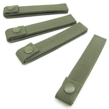 Pásky pro upevnění M.O.L.L.E. výstroje, 15 cm, zelené, Condor