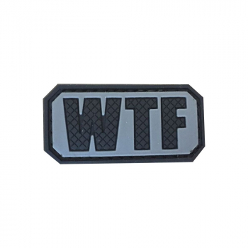 "PVC patch ""WTF"""