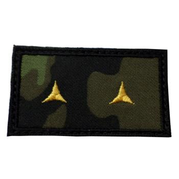 Hodnostní nášivka Poručík