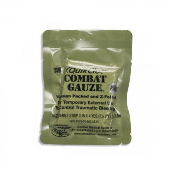 Combat Gauze QuikClot®  Z-Fold with homeostatic, stacked, Z-MEDICA