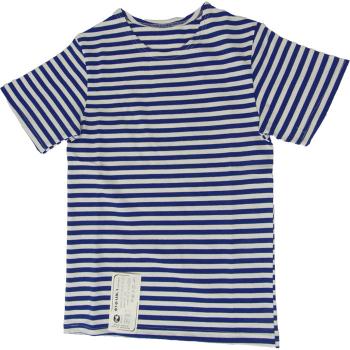 Triko ruské fufajka dětské krátký rukáv, modré