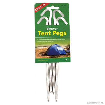 Twisted tent pegs, Coghlan's