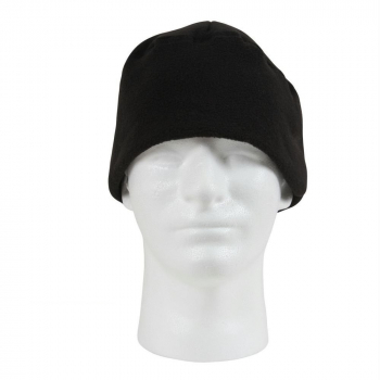 Polar Fleece Watch Cap, Black, Rothco