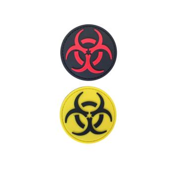 PVC nášivka Biohazard