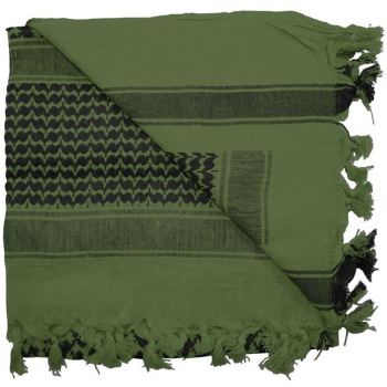 Shemagh Tactical Desert Scarf, green, Rothco