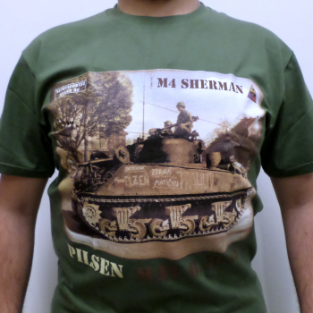 Triko Tank Sherman Pilsen, písková, Netrvalowitz Werke