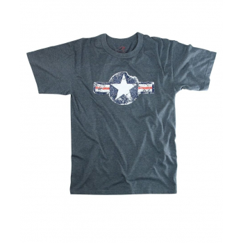 Vintage Army Air Corps T-Shirt, blue, Rothco