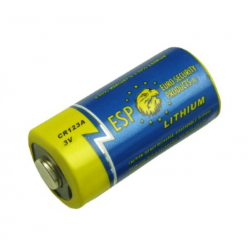 Lithium battery CR123A, 3V