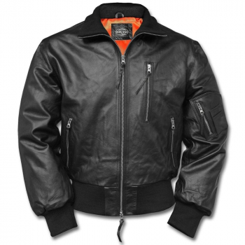 Pilot leather jacket BW Aviator, Mil-Tec