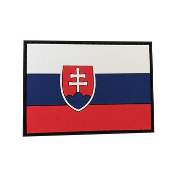 PVC nášivka Slovenská republika, vlajka