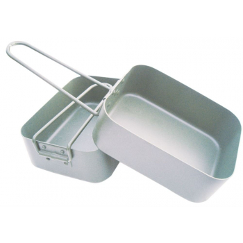 Two-piece dishes Mess Tin, BCB