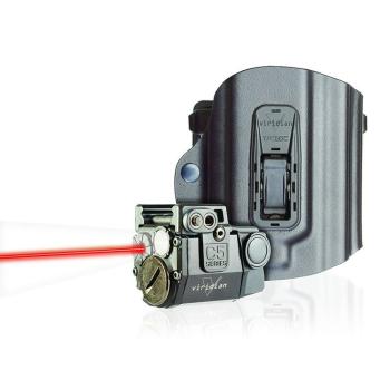 Viridian C5L-R, taktická svítilna s červeným laserem + Tacloc pouzdro