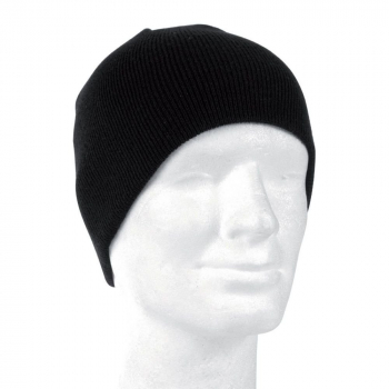 Beanie winter hat, black, Mil-tec
