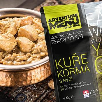 Kuře Korma s rýží (bez lepku), Adventure Menu