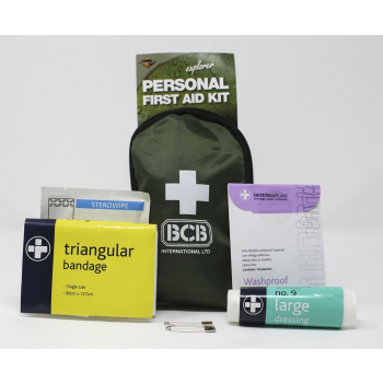 Personal First Aid Kit, BCB