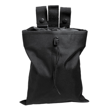 Black empty shell pouch, black, Mil-Tec