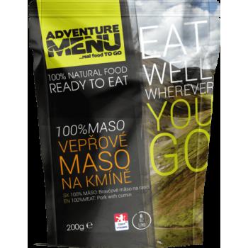 100% vepřové maso na kmíně, bez lepku, Adventure Menu