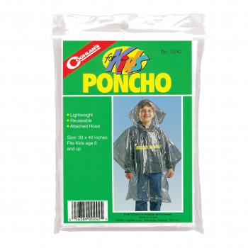 Children's raincoat Coghlans, transparent