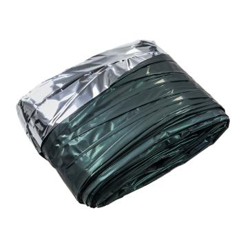 Thermofolie, zeleno-stříbrná, BCB