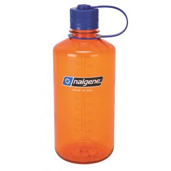 Lahev Nalgene s úzkým hrdlem, 1 L, oranžová