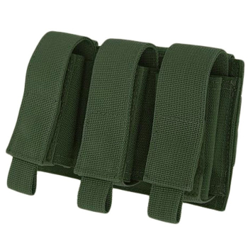 Triple 40mm Grenade Pouch, Warrior, Olive