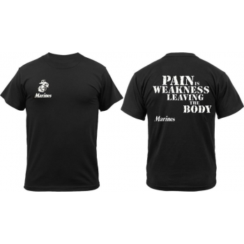 Pain Is Weakness T-shirt, Rothco