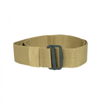 Trouser belt with thread buckle US BDU, coyote, Mil-Tec
