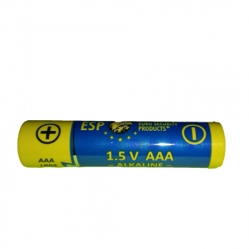 Alkaline battery type AAA, micropencil battery