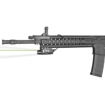 Viridian X5L-RS taktická svítilna se zeleným laserem a kabelovým spínačem do railu
