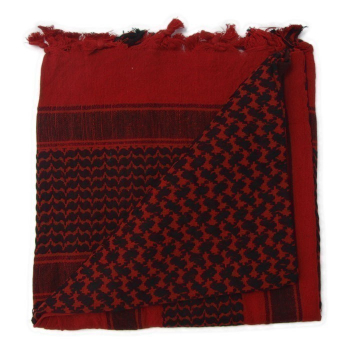 Shemagh Deluxe scarf, red-black, Rothco
