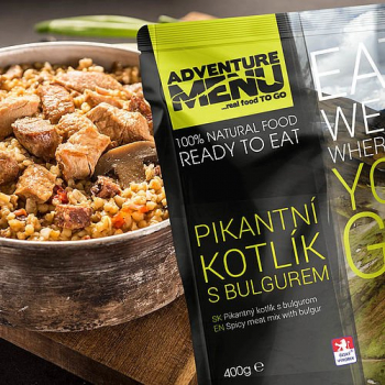 Spicy Meat Mix with Bulgur, Adventure Menu