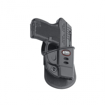 FOBUS holster, for Ruger LCP pistol, right, paddle, fixed