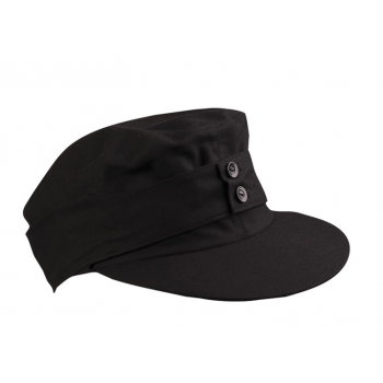Mountain hat M43, Moleskin, black, Mil-Tec