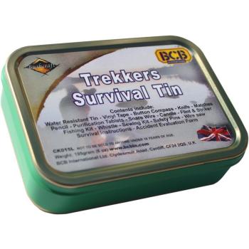 Trekker survival tin, BCB