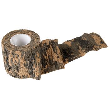 Samopřilnavá maskovací páska Camo Tape, digital woodland, Helikon