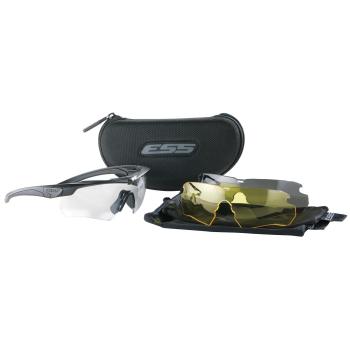 Brýle Crossbow, černý rám, 3 skla, ESS