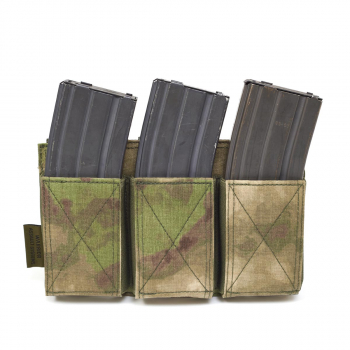 Triple Elastic Mag Pouch AR15 / AK74, Warrior
