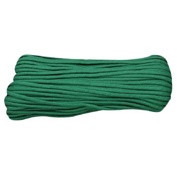 Padáková šňůra Parachute Cord 30 m, zelená