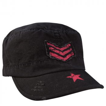 Women's Vintage Stripes & Stars Adjustable Fatigues Cap, Rothco