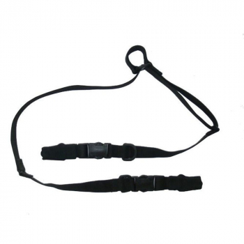 Gun sling single and double-port, Black, Fenix