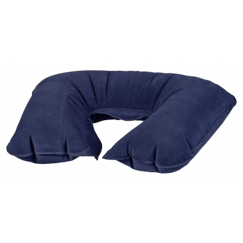 BasicNature Neck cushion, inflatable, blue, Reliance