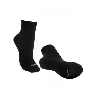 Nadkotníkové ponožky Bennon Air, černé