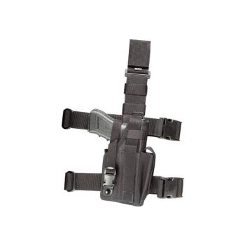 Taktické stehenní pouzdro, univerzální, se zásobníkem, Dasta 651-TZ-PARA